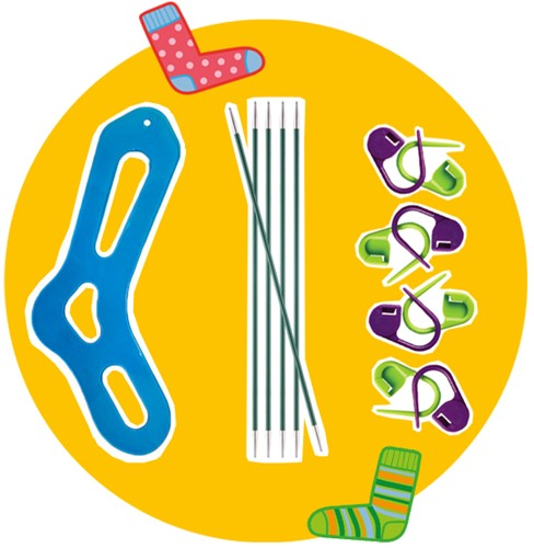 Socken Stricken Accessoirespaket 2 M