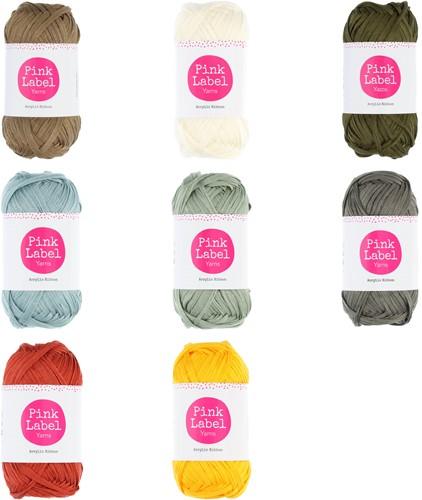 Pink Label Acrylic Ribbon Alle Farben Paket