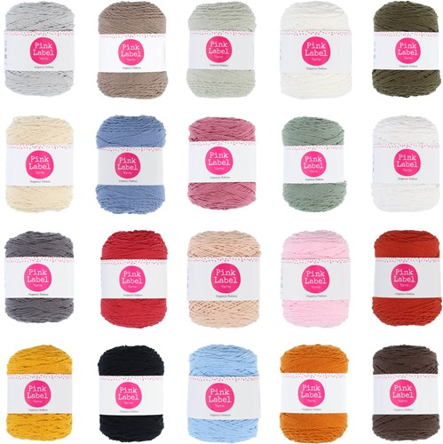 Pink Label Organic Cotton Alle Farben Paket