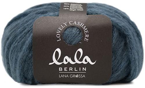 Lala Berlin Lovely Cashmere Poncho Strickpaket 2 40/42 Jeans