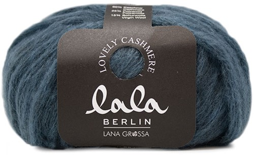 Lala Berlin Lovely Cashmere Poncho Strickpaket 2 36/38 Jeans