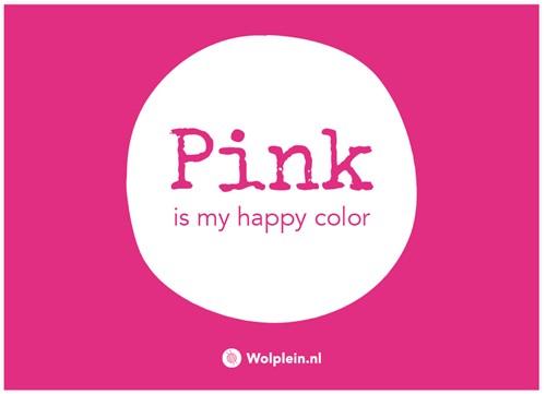Pink Label Postkarte