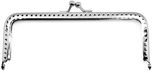 Rico portemonnee Verschluss Silber 9 x 5 cm