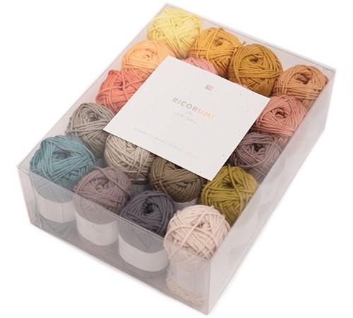 Rico Ricorumi Set 20 Farben Limited