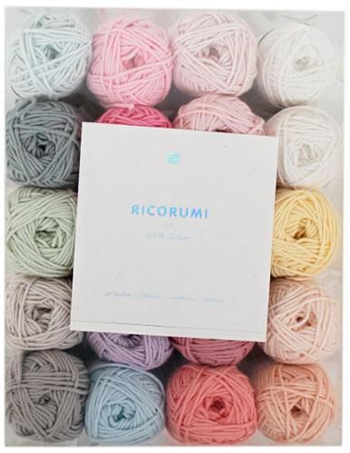 Rico Ricorumi Set 20 Farben Baby Pastell