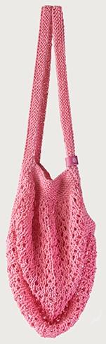 Joly Bag Strickpaket 3 Rosa