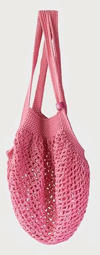 Joly Bag Häkelpaket 3 Rosa