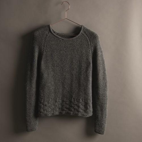 Creative Soft Wool Aran Damenpullover Strickpaket 1 44/46