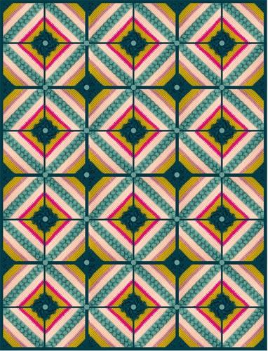 Special Square Decke Häkelpaket 3