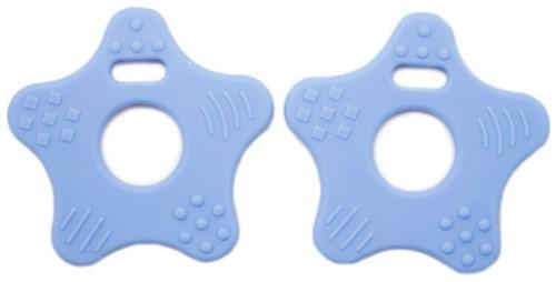 Beißringe Sterne 26 Babyblau