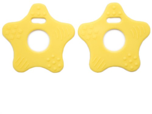 Beißringe Sterne 21 Gelb