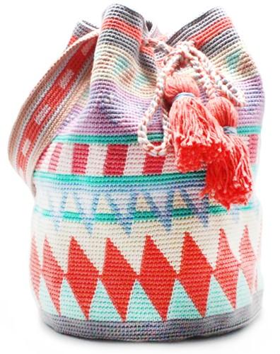 Tapestry Tasche Häkelpaket 3 Pastell