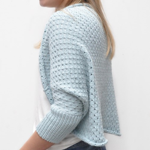 Strickanleitung Tendresse shrug