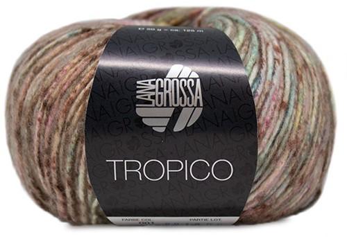 Tropico Ajourtop Strickpaket 1 36/38 Pistachio / Lime Green / Terracotta / Khaki / Purple / Yellow / Rose