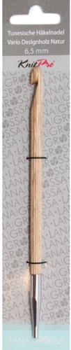 Lana Grossa Tunesische Häkelnadel Natur-Holz 6,5mm