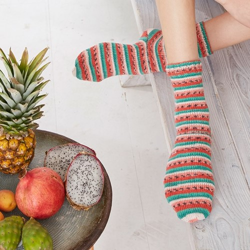 Strickanleitung Tutti Frutti Socken