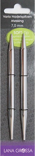 Lana Grossa Vario Messing Nadelspitzen 9,0mm