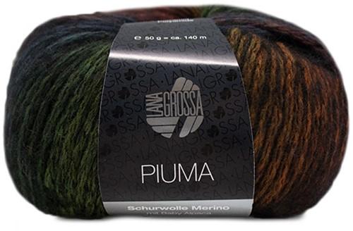 Piuma Jacke Strickpaket 2 36/38 Bordeaux / Petrol / Camel / Black
