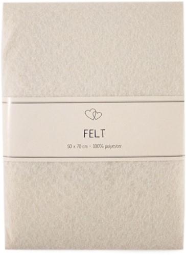 Go Handmade Filz Off-White