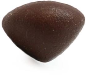 Sicherheitsnase Dreieck Soft braun 21mm