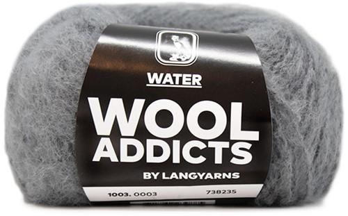 Wooladdicts Smoky Quartz Pullover Strickpaket 5 L/XL