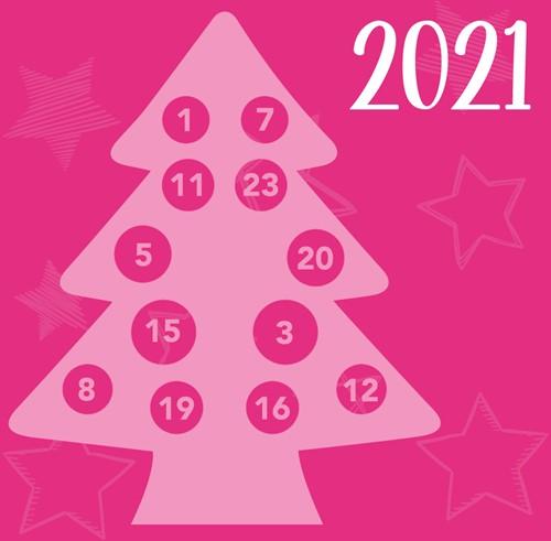 Traditioneller Weihnachtsbaum AdventCAL Häkelpaket