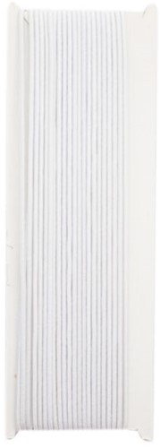 Elasta Elastic Thin Cord White