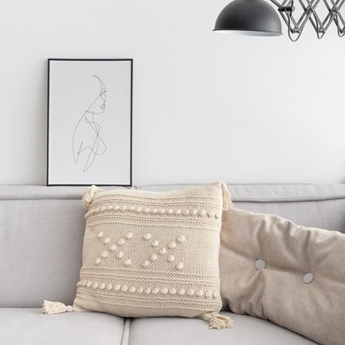 "Strickanleitung Yarn and Colors ""XX"" Cushion"