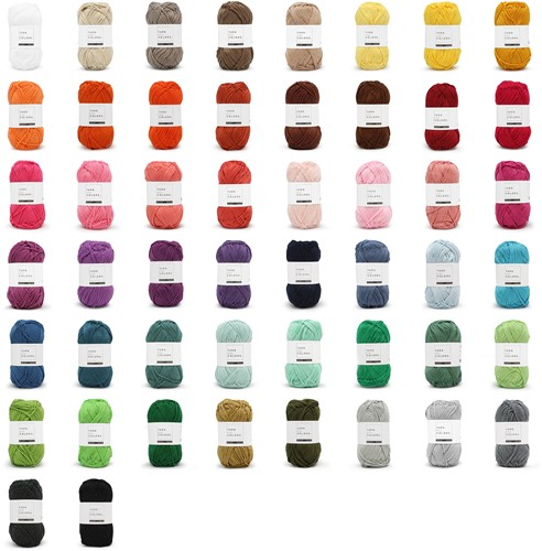 Yarn and Colors Must-have 50 Farben Paket