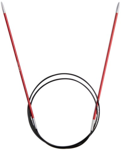 KnitPro Zing Rundstricknadeln 80cm 2,5mm