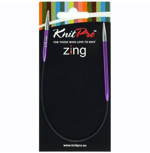KnitPro Zing Socken Runstricknadel 25cm 4,5mm