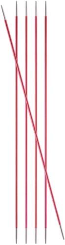 KnitPro Zing Strumpfstricknadeln 20cm 2mm
