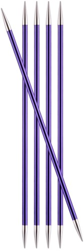 KnitPro Zing Strumpfstricknadeln 20cm 3,75mm