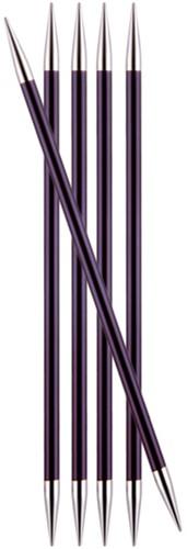 KnitPro Zing Strumpfstricknadeln 20cm 6mm