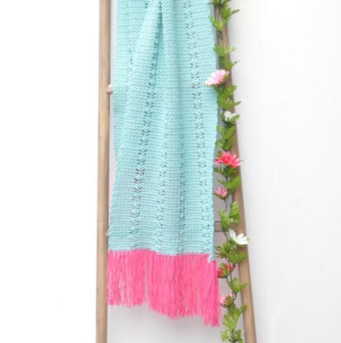 Häkelanleitung Cool Wool Sommerschal